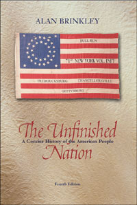 Brinkley - The Unfinished Nation: 4e Book Cover